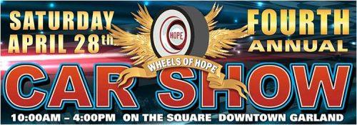 Saturday, April 28th, 2018 - WOH Car Show
