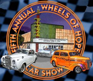 REGISTER TODAY FOR THE WHEELS OF HOPE CAR SHOW
